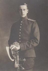 The Grand Duke in his uniform.