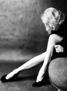 Marlene Dietrich's legendary legs, once insured by Lloyds of London.