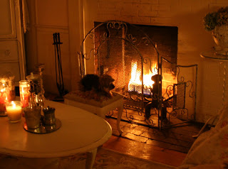 Tea fireplace