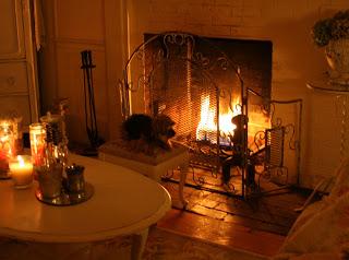 Tea fireplace