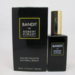 Bandit, intermediary 1990s version from Arpel/Alfin, in Eau de Toilette form. Note the gold top.