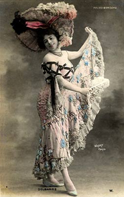 Dancer at the Folies Bergeres. Source: the amazing site of Thomas Weynants. http://users.telenet.be/thomasweynants/actrices.html