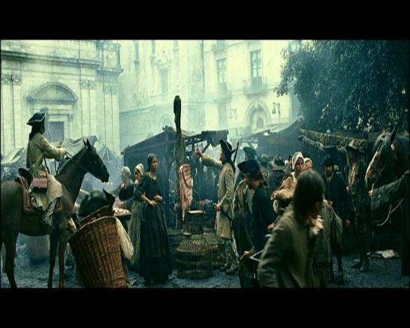 "Scene from the movie, ""Perfume."" Source: BarcelonaMovie.com"