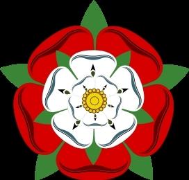 The Tudor Rose, emblem of the royal house of King Henry VII, King Henry VIII and Queen Elizabeth I.