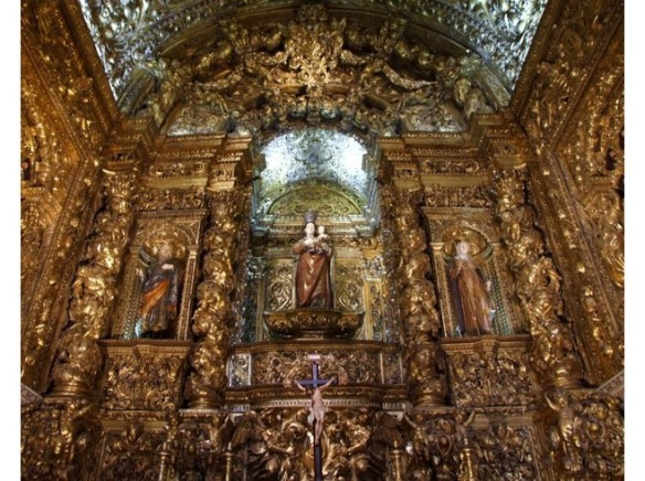"""Sao Roque Church, Lisbon, which is a little how I imagine the Royal Convent to appear. Photo: """"ToonSarah"""" on VirtualTourist.com"""