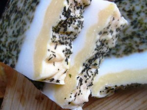 Bergamot soap.Source: The Soap Seduction blog, July 2011.