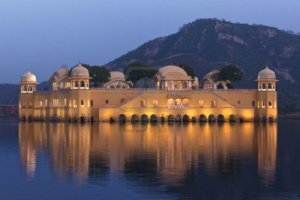 Summer palace on the lake Jaipur