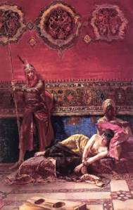 """The Pasha's Concubine"" by Ferencz Eisenhut."