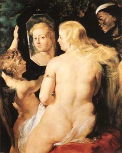 """Venus at a mirror"" - Rubens. Source: La Cornice."