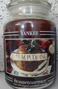Yankee Candle Plum Pudding