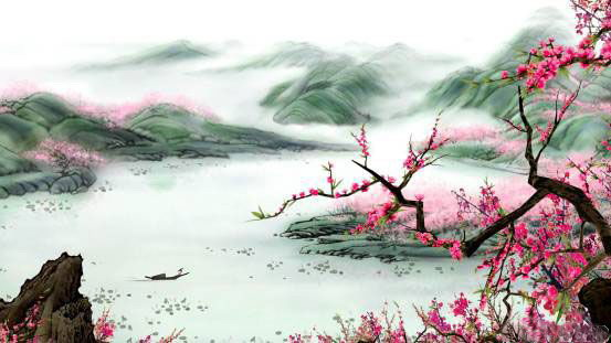 Chinese watercolour. Source: Xiami.com