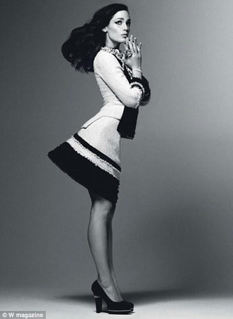 Photo: W Magazine, 2009. Via The Daily Mail.