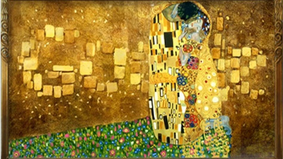 Klimt The Kiss Wallpaper Disclosure My sample of Nawab