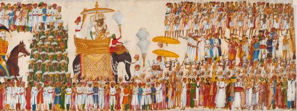 The Raja of Mysore. Source: Victoria & Albert Museum.