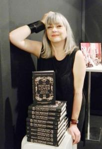 Denyse Beaulieu with her book. Source: The Perfume Magazine.