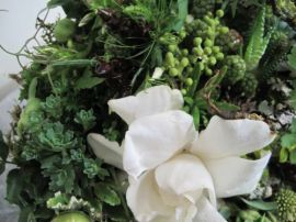 Woodland Bridal Bouquet with Gardenias. Source: FrancoiseWeeks.com