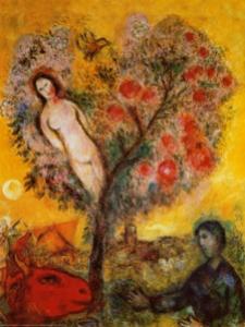"""Marc Chagall. """"La Branche."""" (1976)"""