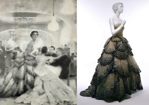 "Dior's famous ""Junon"" dress."