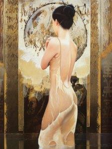 """""""Rosee Celeste"""" by David Graux via Art.com"""