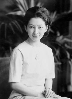 Empress Michiko when young