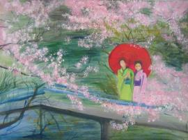 geishas-and-cherry-blossom-lizzy-forrester