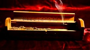 Incense stick. Source: Stock footage and Shutterstock.com.