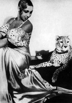 Josephine Baker who danced at Le Bal Negré and who helped trigger the fascination with Africa in 1920s Paris.