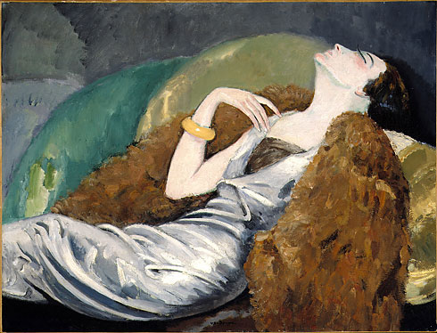 "Kees Van Dogen - ""Woman on a Sofa."""