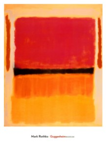 Mark Rothko, Untitled (Violet, Black, Orange, Yellow on White and Red), 1949. Source: The Guggenheim Museum.