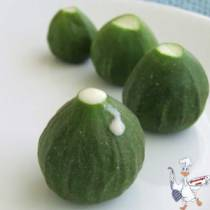 Unripe Figs via Giverecipe.com. (For recipe on Unripe Fig Jam, click on photo. Link embedded within.)