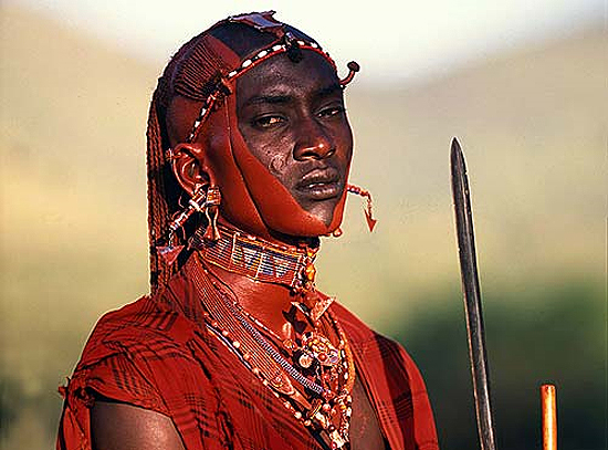 African Masai Warrior. Source: Foursquare.com