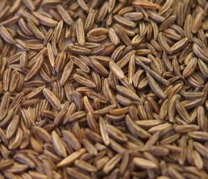 Caraway seeds.