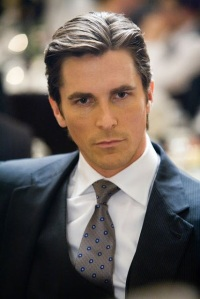 christian bale as bruce wayne