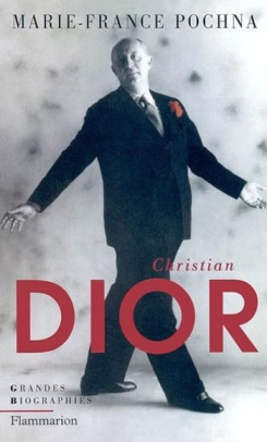 The dapper Dior on the cover of the biography by Marie-France Pochna