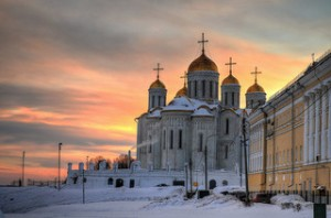 Dormition Cathedral in Vladimir. Photo by O1e9. Source: Flickr