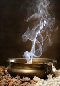 Frankincense Smoke  via iStock photos