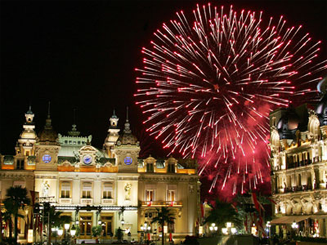 Monte Carlo fireworks