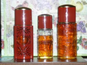"Vintage Opium bottles. Source: ""Rizack2"" on Fragrantica"