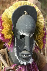 Traditional African Dogon Masque via Wikicommons