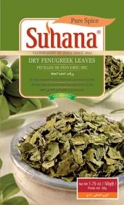 Dried fenugreek leaves via Suhana.co.in