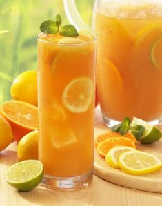 Orange and lemon via Herbal Teas International