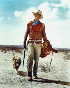 "John Wayne in ""Hondo"" via cinemaforever.com"