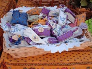 Lavender at a Provence marché. Source: Picstopin.com