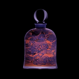 "Serge Lutens' Facebook photo of the rare ""Dragon"" jar."