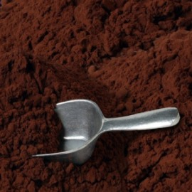 Unsweetened cocoa powder. Source: wellsphere.com