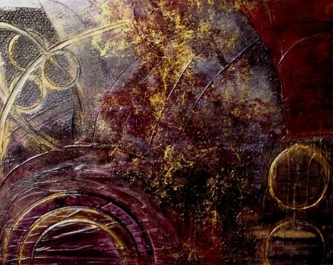 "Painting by Holly Anderson. ""Spherical Romance Art Set"" via Artbarrage.com. https://www.artbarrage.com/item.php?id=656"