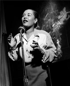 Billie Holiday. Photo: Herman Leonard. Source: morrisonhotelgallery.com