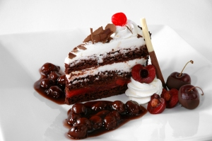 Black Forest Torte. Photo/Recipe by Mark F. Weber at Clean Me. http://tinyurl.com/mb2j6rh