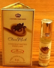 Choco Musk perfume oil. Source: Al-Rashad and Amazon.