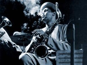Dexter Gordon. 1948. Photo: Herman Leonard via vk.com